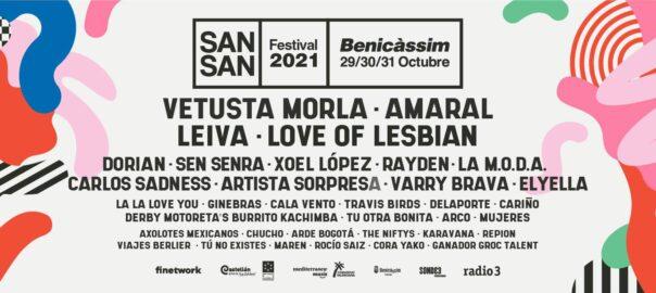 Cartell SanSan Festival 2021