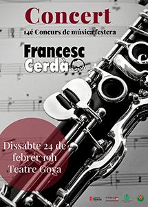 Concurs Francesc Cerdà