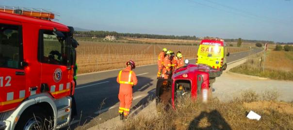 Accident de trànsit a Fontanars