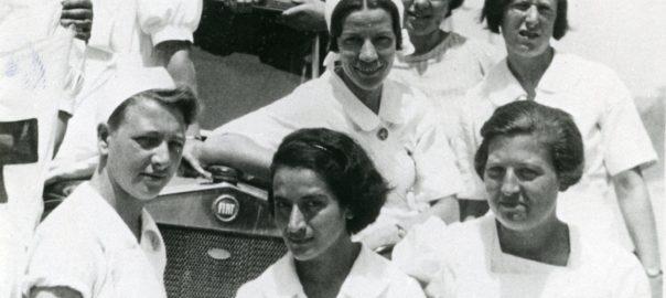 mamàs belgues a l'hospital militar internacional d'Ontinyent
